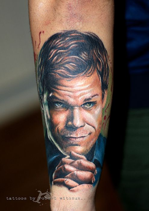Dexter Tattoos By Robert Witczuk Tattoos Pinterest