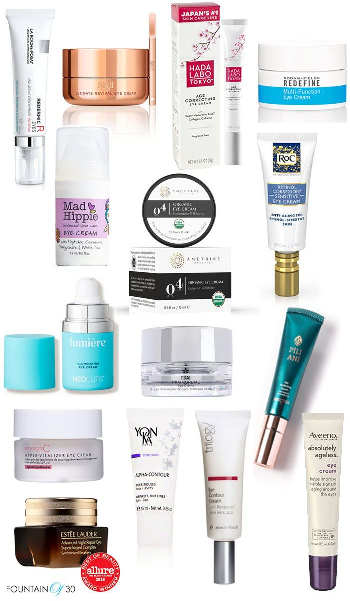 15 Of The Best Anti Aging Eye Creams Fountainof30 Com Best Anti Aging Anti Aging Eye Cream Anti Aging Skin Products