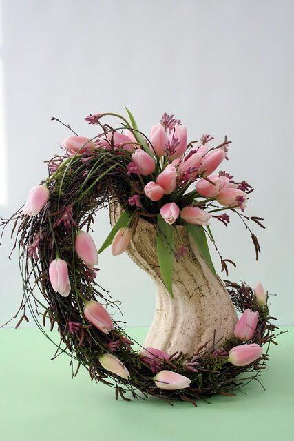 Modern Flower Arrangements tulips