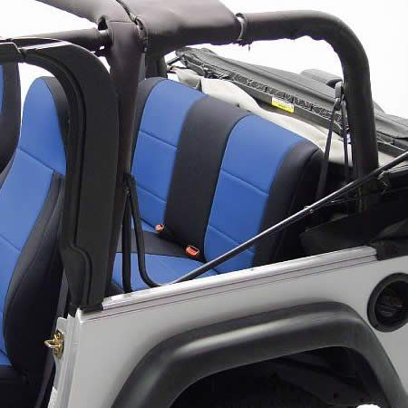 Coverking Custom Fit Seat Cover For Jeep Wrangler YJ 2 Door