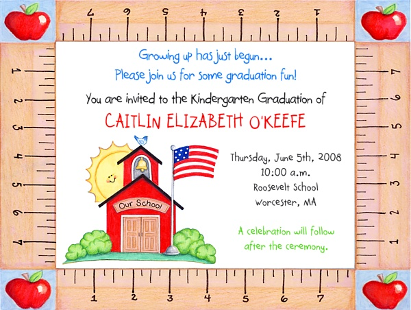 55 best preschool kindergarten graduation cards images on pinterest kindergarten or preschool graduation invitations filmwisefo Images