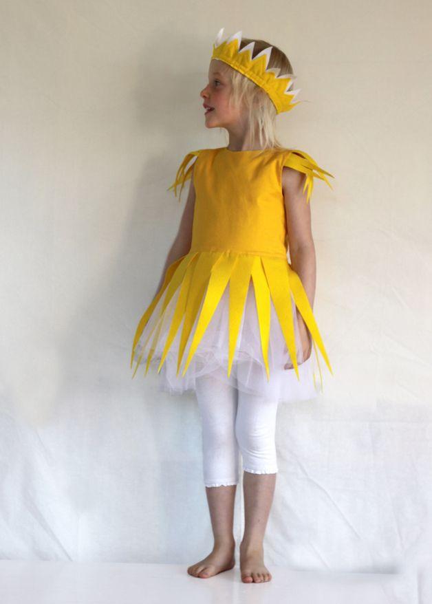 """Kostüm """"Sonnenstrahlenkind"""", Kinderkostüm, Sonne"""