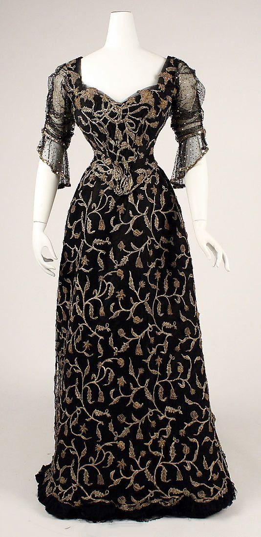 Dress  Date: 1904 Culture: French Medium: silk