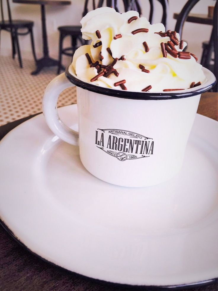 Treat yourself to breakfast at La Argentina Gelato this weekend!