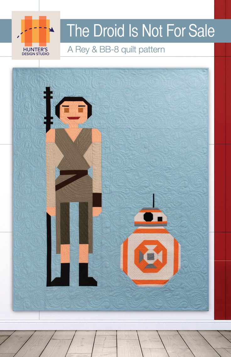The Droid Is Not For Sale Free Pattern By Sam Hunter Of