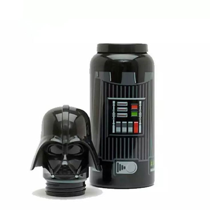 ==> [Free Shipping] Buy Best Star Wars Water Bottle Black Knight White Garrafa Termica Pawns Kettle Vacuum Flask Stainless Steel Online with LOWEST Price | 32719271416