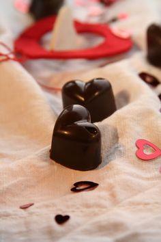 Cioccolatini ripieni di zenzero ed arancia