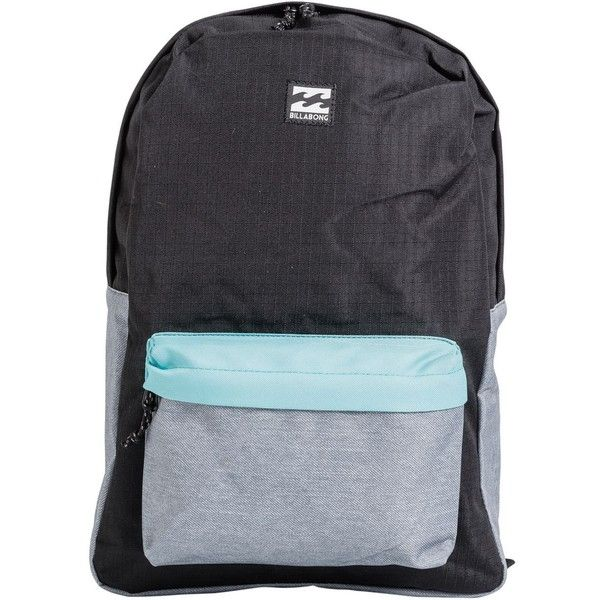 BILLABONG ALL DAY PACK BACKPACK ($40) ❤ liked on Polyvore featuring bags, backpacks, billabong rucksack, daypack bag, woven bag, rucksack bags and backpack bags
