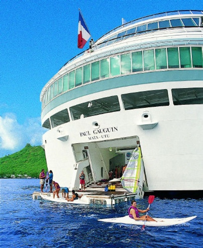 LOVED THIS BOAT! Such a dream!! Tahiti cruise through French Polynesia on Paul Gauguin luxury ship an affordable way to visit-