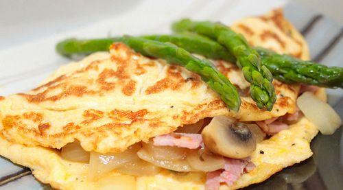 Breakfast Asparagus Omelette