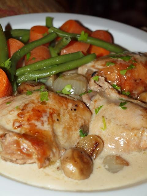 Chicken Fricassee Americas Test Kitchen Recipe