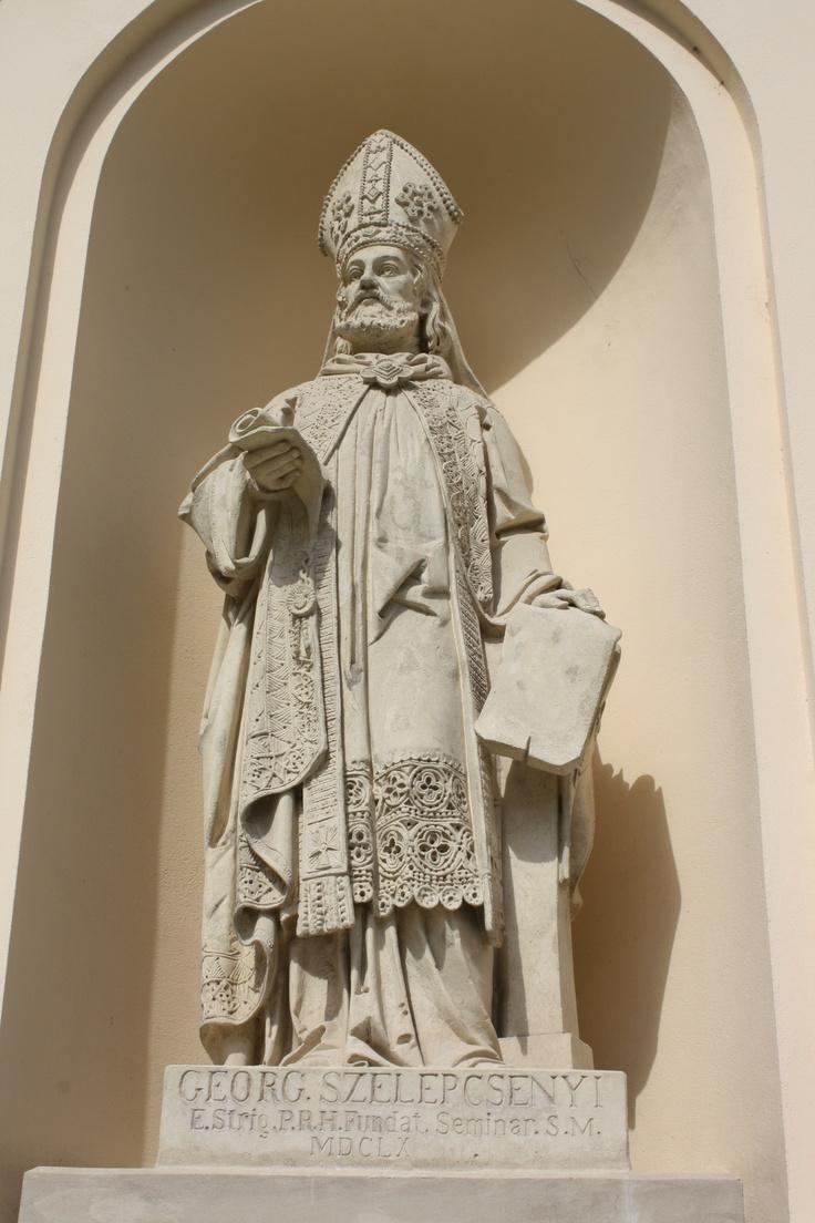 Esztergom, Georg Szelepcsenyi statue, Hungary