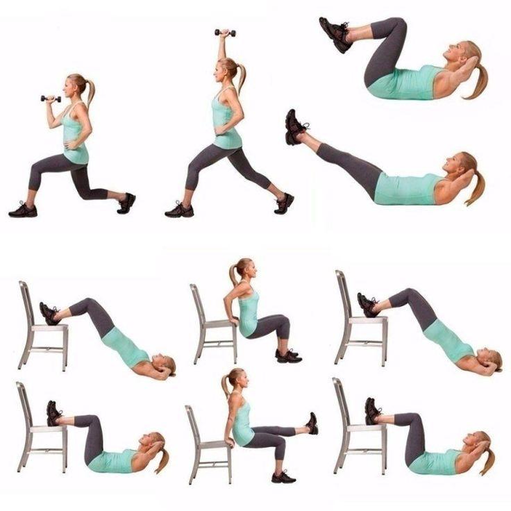 Комплекс Упражнений Способствующих Похудению.