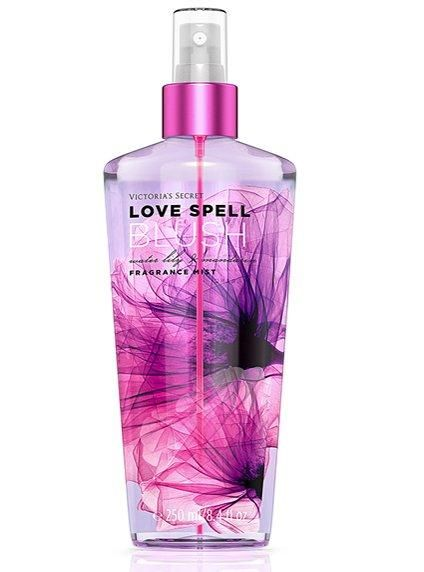 I prefer vs body sprays over perfumes I don't like perfumes they make me nauseas