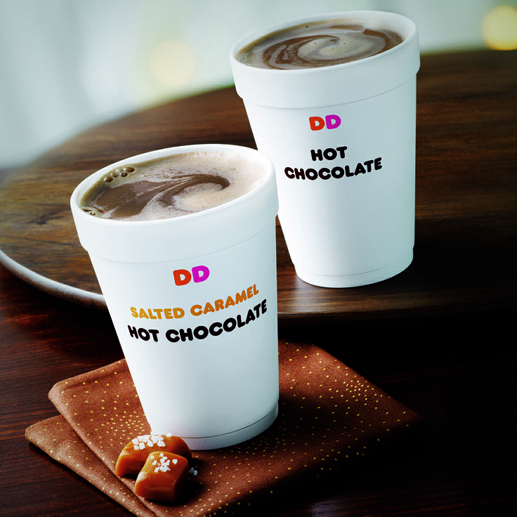 No matter your age, it's always fun to treat yourself to a Dunkin' Donuts Hot Chocolate!