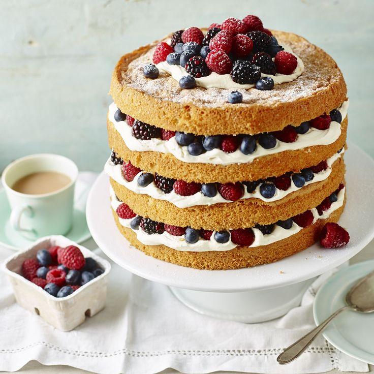 Mary Berry Coffee And Walnut Cake Delia