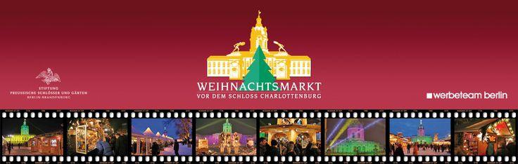 Weihnachtsmarkt vor dem Schloss Charlottenburg