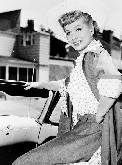 Lucille Ball....cute pic