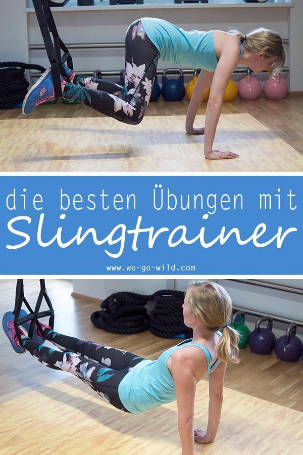 7 effektive Sling Trainer Übungen: Workout mit Schlingentrainer – TRX