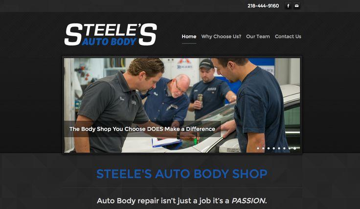 Steele's Auto Body Bemidji, MN