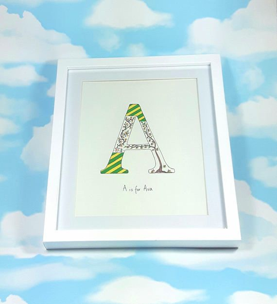 Check out this item in my Etsy shop https://www.etsy.com/uk/listing/529638931/custom-nursery-letter-printable-art