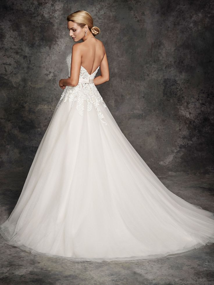 Style be251 bridal gowns wedding dresses ella for Private label wedding dresses