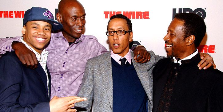 "cast of the wire season 5 | The Cast Of HBO's ""The Wire"" At The Season-Five Premiere In New York"