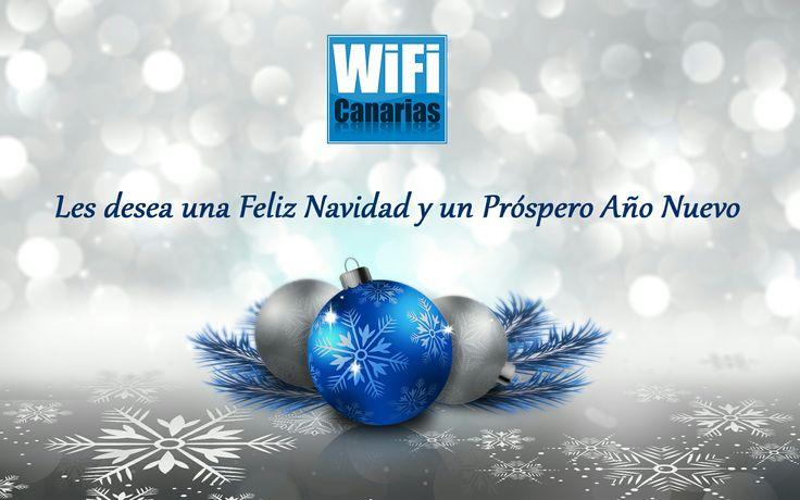 WiFi Canarias les desea una Feliz Navidad y un Próspero Año Nuevo