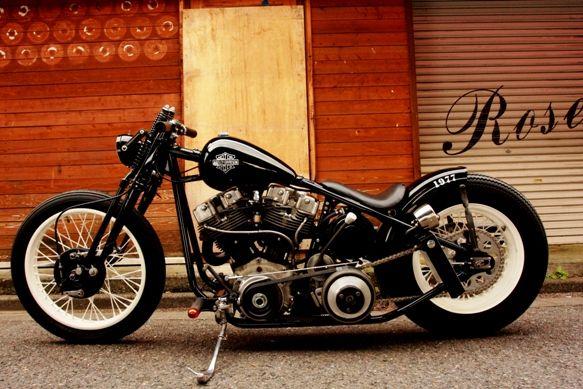 harley shovelhead | Is This A Classic Harley Davidson Shovelhead or a Bobberhead, India ...