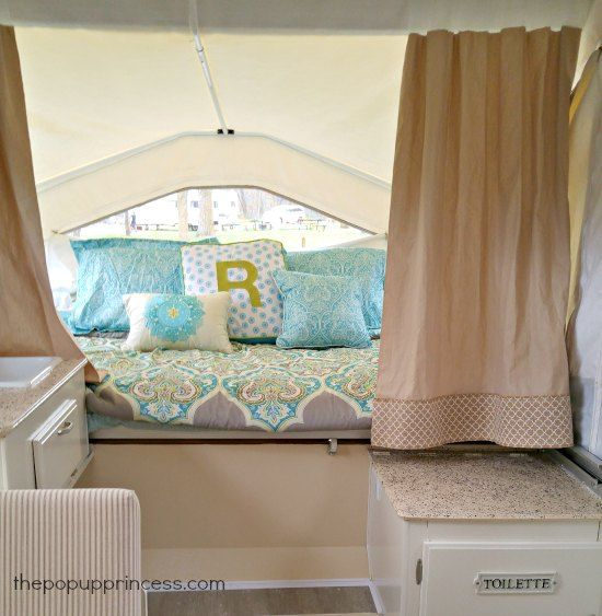 Delightful Add A Strip Of Coordinating Fabric To The End Of Your Stock Camper Curtains  To Add