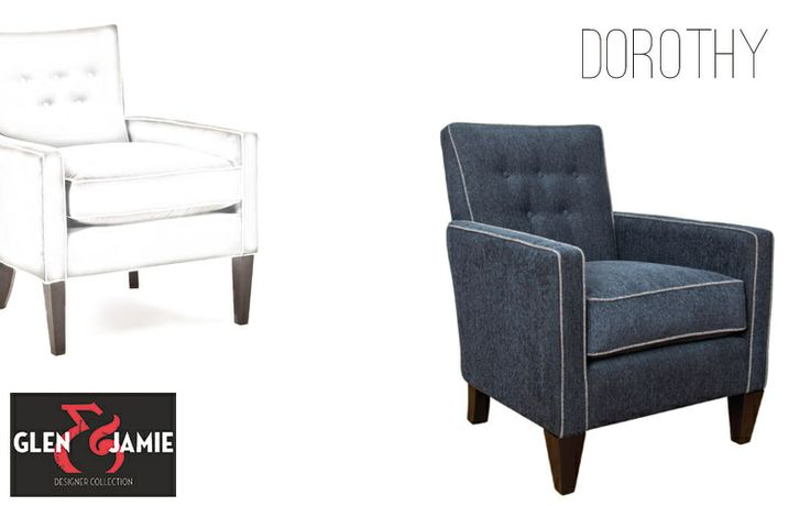 Dorothy chair from Glen and Jamie's designer collection #GlenandJamie #furniture #design