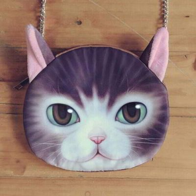 Kitten Cat Pattern Decorated Chian Design Purple. Cute and elegance REPIN if you agree.😊 Only 215 IDR