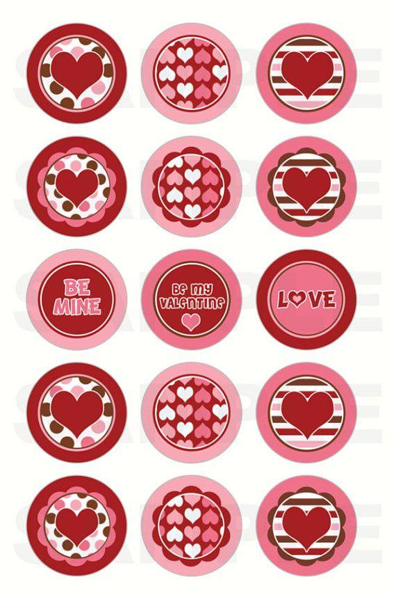 Hearts Bottle Cap Images