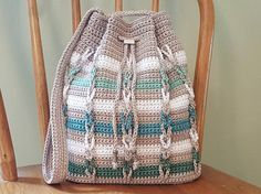 Hey, I found this really awesome Etsy listing at https://www.etsy.com/listing/518259660/drawstring-shoulder-bag-gray-green