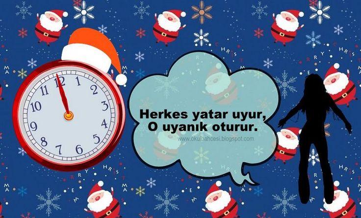#YeniYıl #Bilmeceler #ilkokul #okul #okulöncesi #yeniyılbilmeceleri #saat http://okulbahcesi.blogspot.com.tr/search/label/bilmeceler