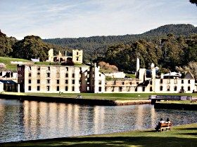 Spotlight on Historic Port Arthur. You will enjoy holidays in this historic destination. #australia #historic #travel #tasmania  http://www.ozehols.com.au/blog/tasmania/spotlight-on-historic-port-arthur/