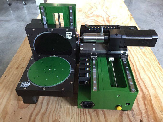 The PocketNC CNC Mill comes in at under $5,000 and delivers 5 axes of movement.
