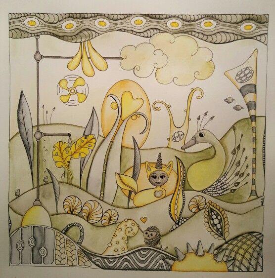 Neocolor II 21X21 cm #sandflowerswe #futurecoloringbook
