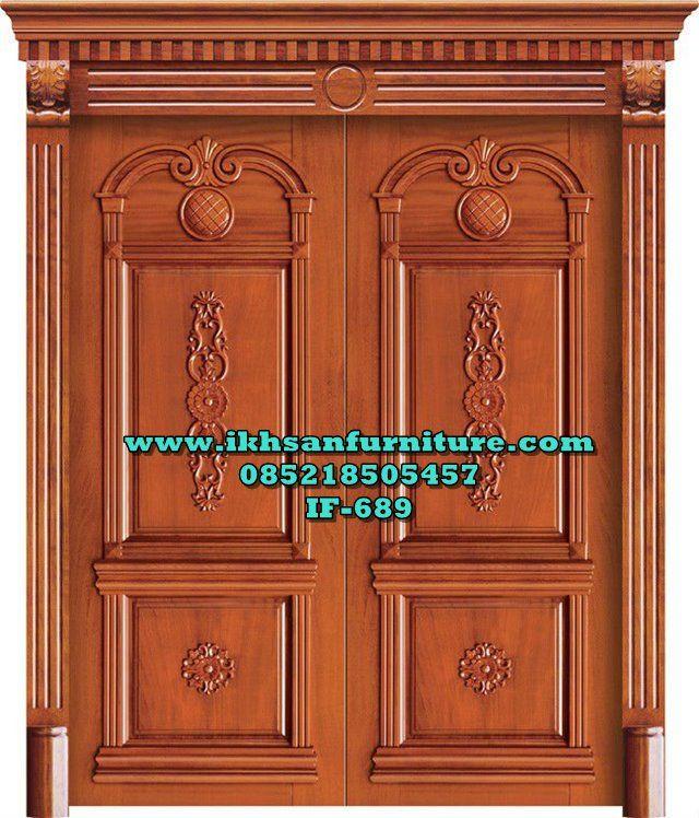 Pintu Rumah Mewah 2 Pintu