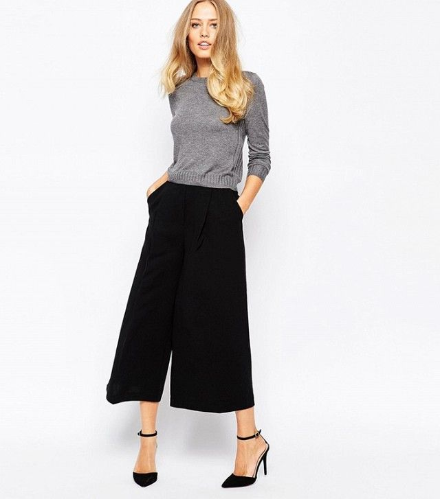 Whistles Renee Wide Leg Crop Pant