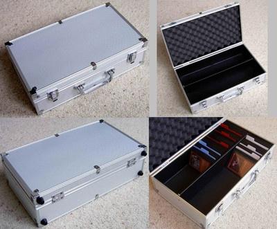 Trading Card Game Metal Storage Deck Box Divider Magic Mtg