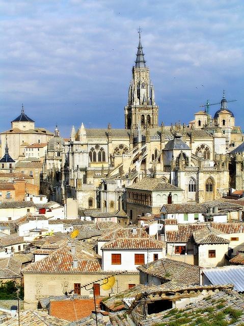 BeautifulToledo, Castilla-La Mancha (España / Spain) by Eber, via Flickr