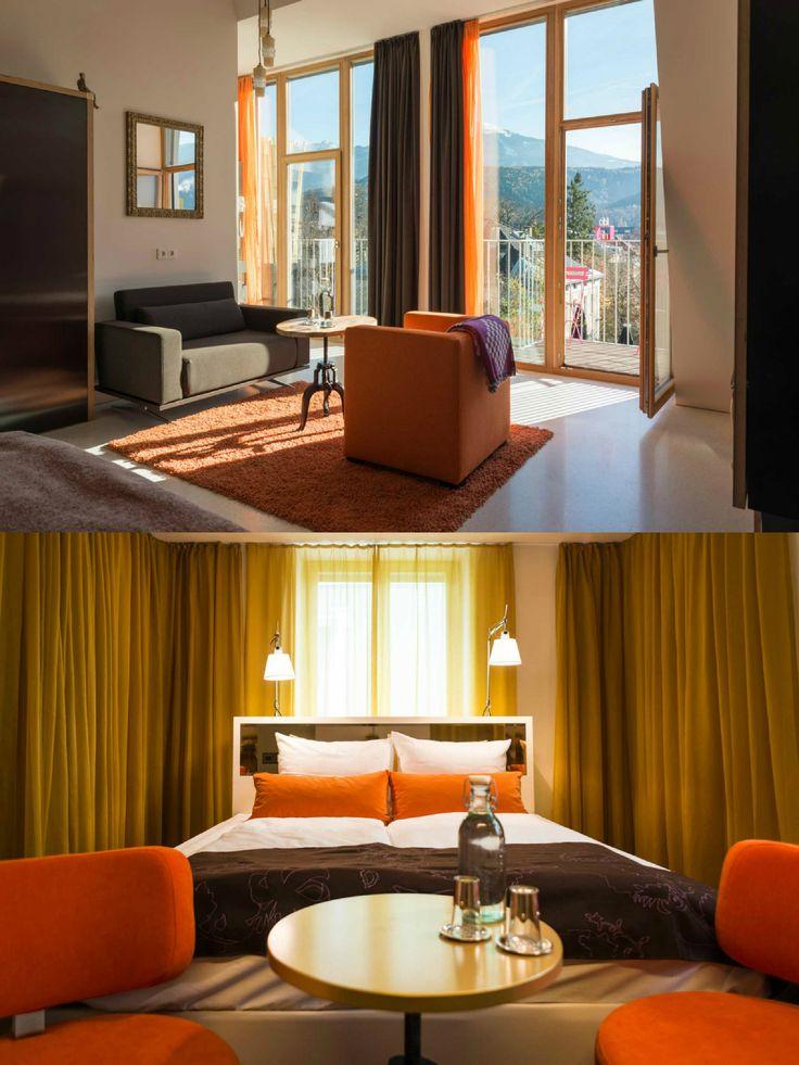 NALA Indivduellhotel | Designhotel | Innsbruck | Austria | http://lifestylehotels.net/en/nala | Room with great view
