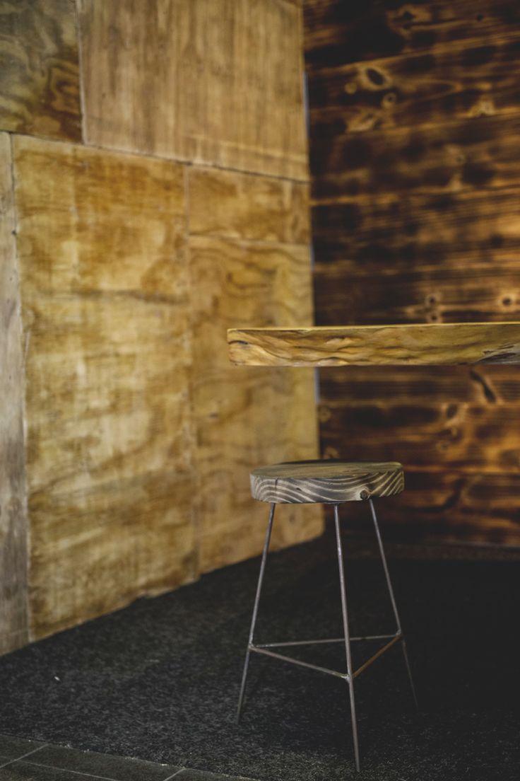 HOMEMAKERS Expo 2015 Johannesburg | Wooden Bar Stool