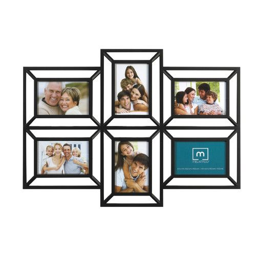 melannco 6 opening collage picture frame - Collage Photo Frames
