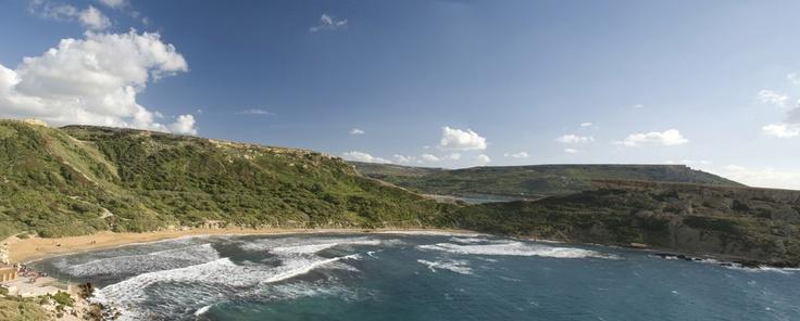 Golden Bay, Malta (isla de Malta)