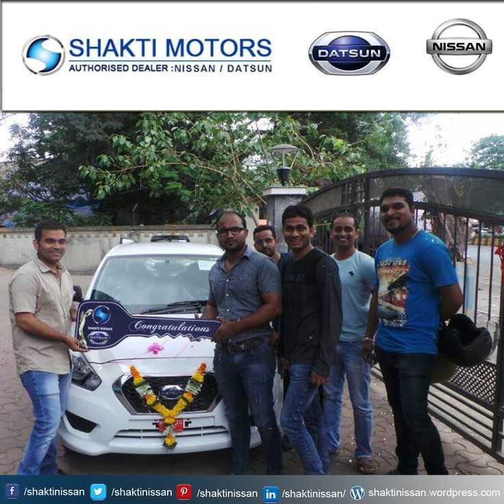 """Our Proud Customer Congratulations """"Prathamesh Chalwadi"""" for getting his new #DATSUN Car. Know more about #ShaktiNissan : http://goo.gl/Cj4lNH  #DatsunCarDelivery #NissanCar #Sunny #Terrano"""