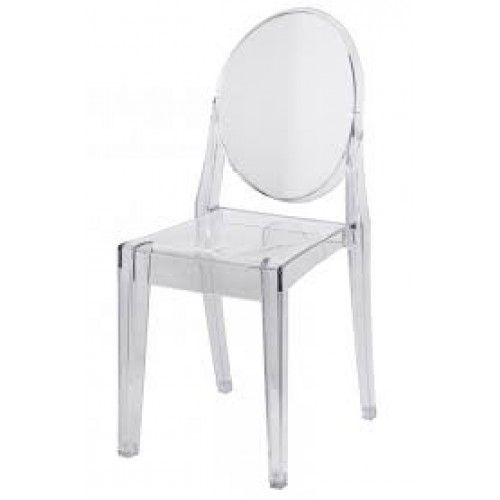 GHOST CHAIR WITHOUT ARMS