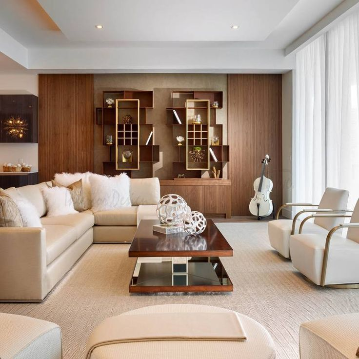 Room Redo Warm Neutral Transitional Living Room Glamour Living