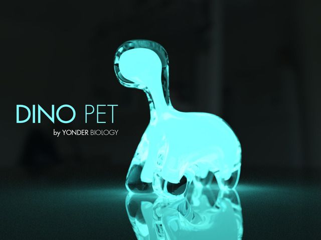 Dino Pet is a living, bioluminescent night light powered by algae. Created by Yonder Biology. What a neat way to light up your dorm room at night! #easydorm #dormitems #collegedorm